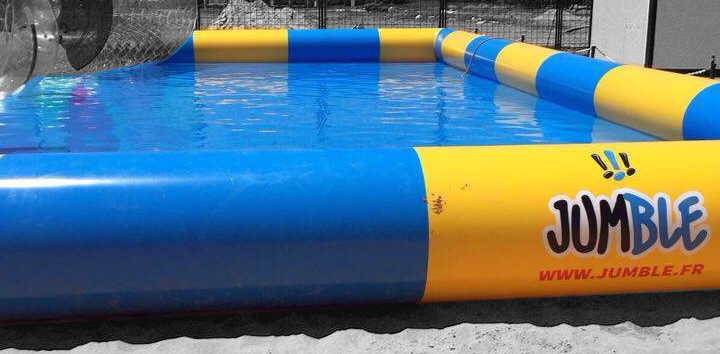 Piscine gonflable pour water ball for Grosse piscine gonflable